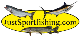 just sport fishing logo
