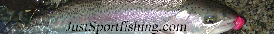 Just Sportfishing.com header